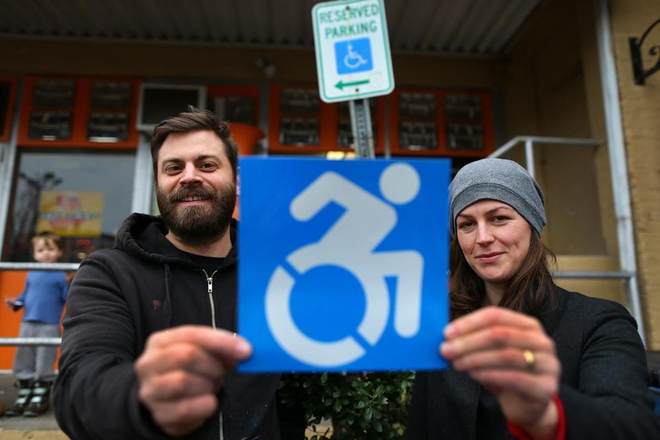 Brian Glenney and Sara Hendren on their campaign to change the design of wheelchair signs to be more active