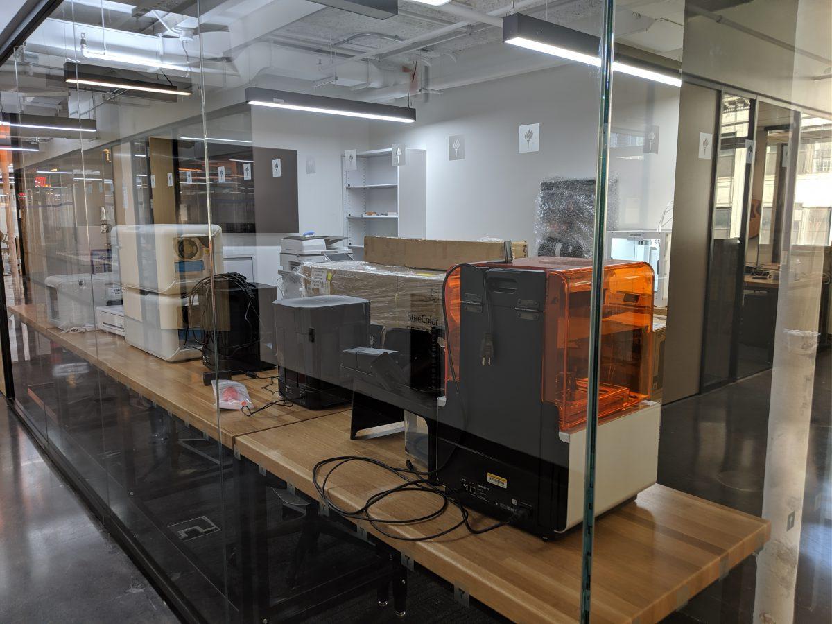 3D printing lab at IDM