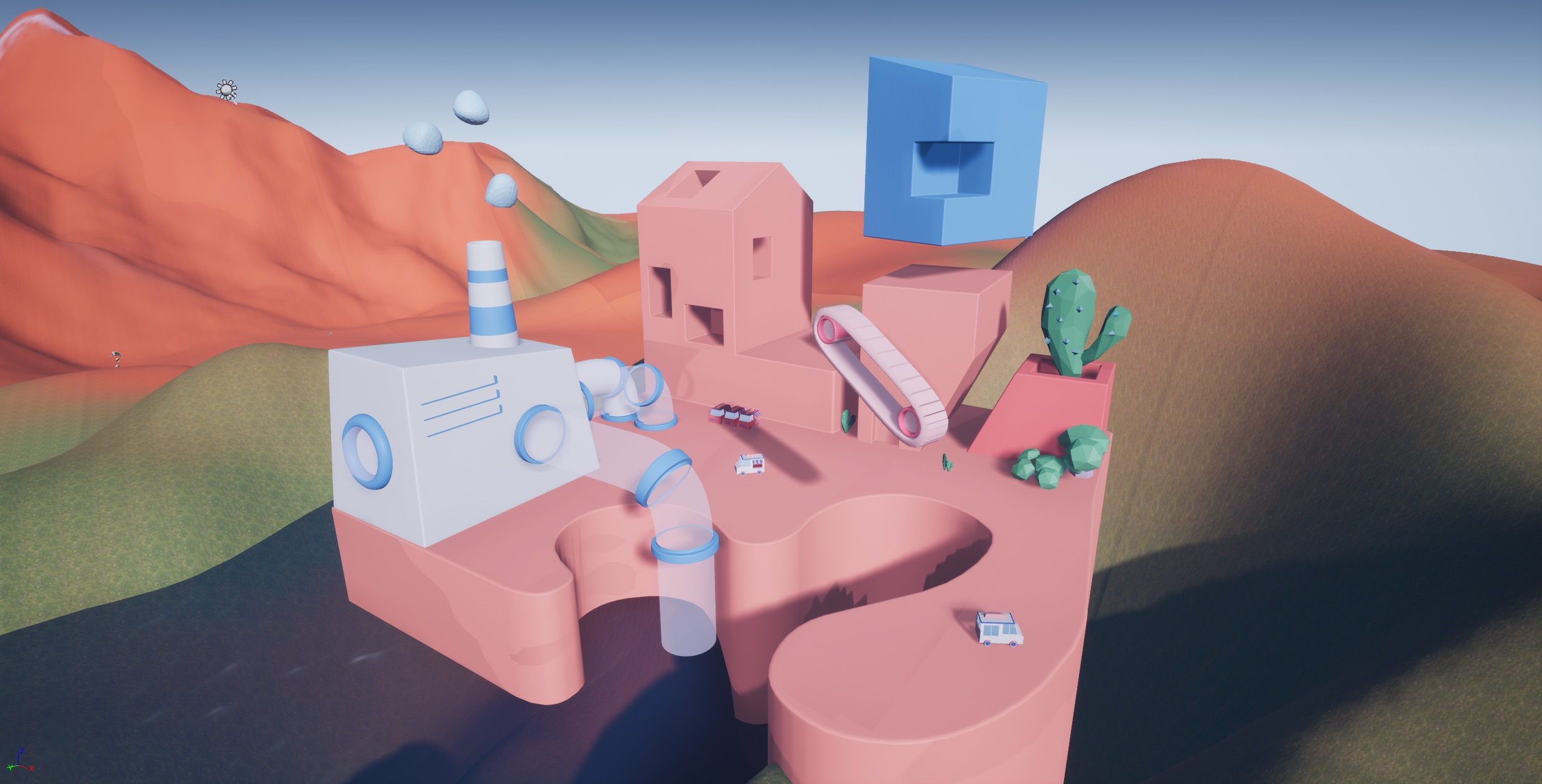 UE4 Environment Update + LAB 3 (data clean up) – Teresa's Studio